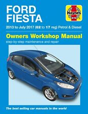 6407 Haynes Ford Fiesta Petrol & Diesel (2013 - 2017) Workshop Manual