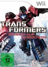 Nintendo Wii + wii U transformers mission sur Cybertron guterzust.