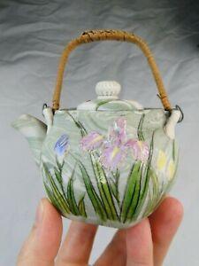 Ancienne théière en porcelaine fine Japon