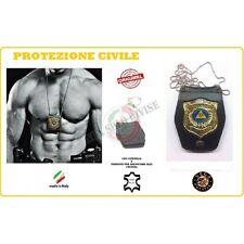 Portaplacca Doppio Uso Collo - Cintura Protezione Civile Vega Holster Italia