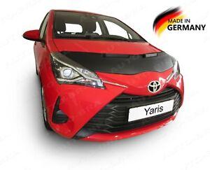 CAR HOOD BRA fits TOYOTA Yaris - Vitz 2010 - 2020 FRONT END NOSE MASK Tuning