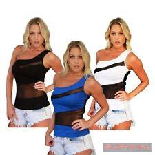 Unbranded One Shoulder Regular Tops & Blouses for Women