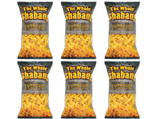 The Whole Shabang Xtreme Cheese Curl Crunches 6 Pack - 9.5oz Bags