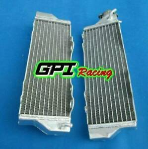 LEFT AND RIGHT FOR HUSQVARNA SM TE SMS 630  2011 2012 Aluminum Radiator