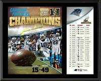 "Carolina Panthers 2015 NFC Conference Champions 12"" x 15"" Plaque - Fanatics"