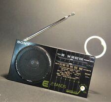 Sony ICF-12 RADIO Portatile AM FM Vintage Tascabile Radiolina Portatile D'Epoca