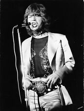 Photo originale Mick Jagger Rolling stones Palais des sports Paris 1970