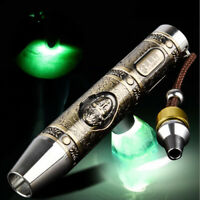 5W XPG R5 LED Jade Flashlight ​White Light Jewelry Amber Gemstone Torch Lamp