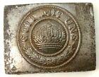 Original WW1 German Buckle - Original WW1 Artifact