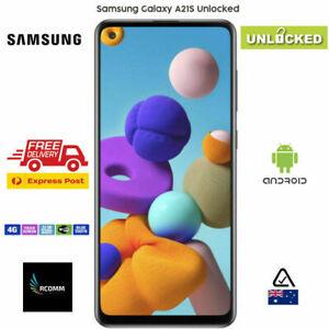 AU STOCK Samsung Galaxy A21s SM-A217F - 32GB - Black Unlocked Single SIM EXPRESS