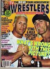 TV WRESTLERS #18 OCTOBER 1993 HULK HOGAN STING RIC FLAIR (VERY GOOD) WWE WWF NWA