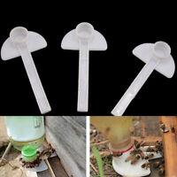 15Pcs Beekeeping Entrance Plastic Water Drinker Bee Honey Feeder Cup Tool Sanwo