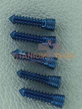 20mm Safety Locking Screws Titanium Screws 100 Pcs Self Tapping