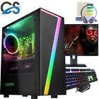 Fast Gaming Pc Computer Bundle Core I5 16gb 240gb Ssd Windows 10 Nvidia Gt1030