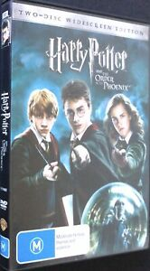 Harry Potter And The Order Of The Phoenix - 2 Disc DVD Set - Region 4 - PAL