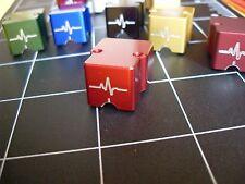 ParadoxPulse Guard phono cartridge body RED, Denon DL103, DL103R, T-6