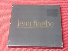 Lena Fiagbe: What's it like to be beautiful  ltd CD single in box