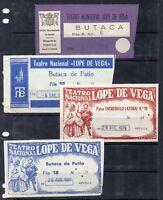 Teatro Lope de Vega Sevilla Entradas Eventos años 1974-81 (DW-59)