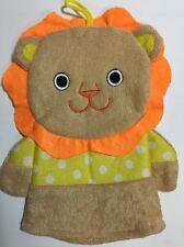 "Greenbrier Baby Bath Toy Lion Hand Puppet 9"" Wash Bath Mitt - Free Shipping"