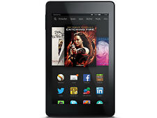 Amazon Kindle Fire HD 8GB, Wi-Fi, 7in - Black 4th Generation Very Good Condition