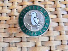 Kookaburra Social Club Enamel Badge Vintage 1940s 50s