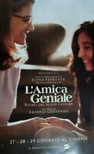 POSTER L'AMICA GENIALE 2 STORIA DEL NUOVO COGNOME 68X32cm LIMITED EDITION CINEMA