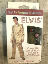 ELVIS PRESLEY In-Ear Buds Artist Headphones for iPod iPhone MP4 MP3 Player NEW