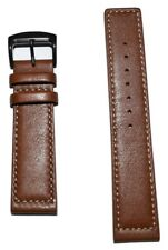 Original Citizen Men's Strap 22mm Brown Leather Band Strap for Watch BM8475-26E