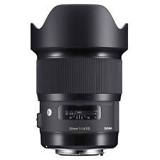 Sigma 20mm F1.4 DG HSM 'A' Lens - Canon Fit