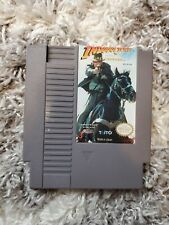 Indiana Jones and the Last Crusade Nintendo Nes Authentic Tested Clean