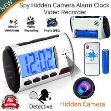 HD Digital Spy Camera Alarm Clock Hidden Video Camera Cam DVR Motion Detector