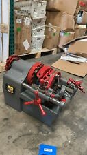Used Electric Pipe Threader Machine 12 2 Threading Cutter Deburrer 110v