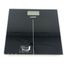 Digital Body Weight Bathroom Scale with Large Backlit Display Step-On Technology
