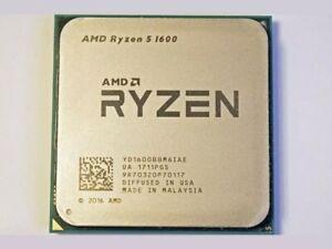 AMD YD1600BBM6IAE Ryzen 5 1600 AM4 Hexa-core 3.2 GHz Gaming Processor (READ DES)