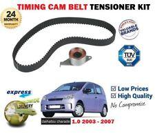 FOR DAIHATSU CHARADE 1.0 L251 EJ-VE 2003-2007 TIMING CAM BELT + TENSIONER KIT
