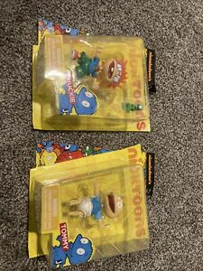 Nicktoons RUGRATS Nickelodeon Mini Action Figure CHUCKIE And Tommy Reptar Rare