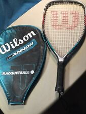 Wilson Kannon Fused Graphite Racquetball Racquet