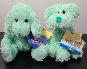 Toys R Us Animal Alley Bean Bag Collectibles Plinka & Papply Plush