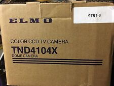 NEW Elmo TND4104X Dome Color CCD TV Camera Hi Resolution 480TVL 9751-6