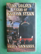 THE GOLDEN YEARS OF BRITISH STEAM - 1930's ONWARDS ( NEW)  RARE & DELETED