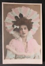 Miss Olive May Actress as a Debutante Tucks Unposted Postcard