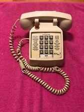 Vintage Red Fox Inn Hotel Motel Room Push Button Telephone RED LIGHT ITT Premier