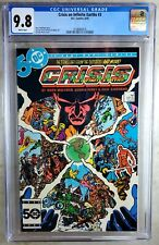 Crisis on Infinite Earths #3 D.C. 1985 CGC 9.8 NM/MT White Pages Comic P0161