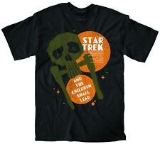 "Star Trek T-Shirt ""And The Children Shall Lead"" Juan Ortiz Large"