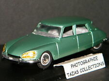 RARE : CITROEN DS 21 1967 VERTE - ELIGOR 1/43 Ref 100532 !!! MADE IN FRANCE !!!