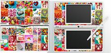 nintendo NDSi DSi original  - CANDY - SWEETS - 4 Piece - Sticker Skin UK