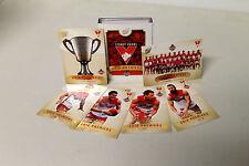 SYDNEY SWANS 2012 AFL PREMIERSHIP CARD SET UNFRAMED - BRAND NEW