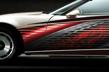 RACE CAR GRAPHICS Vinyl Decal IMCA Club Graphic Racing Side Stripes Dirt Truck