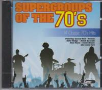 SUPERGROUPS OF THE 70'S - VARIOUS ARTISTS  - CD - NEW -