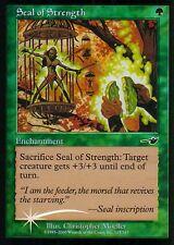 Seal of strength FOIL | pl | Nemesis | Magic MTG